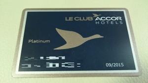 Le Club Accorhotels PLATINUM