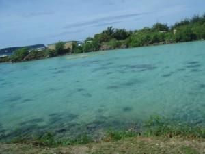 グアムの綺麗な海2