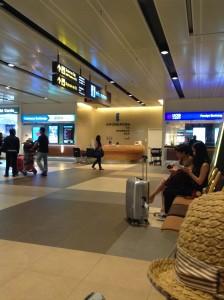 シンガポールチャンギ国際空港1